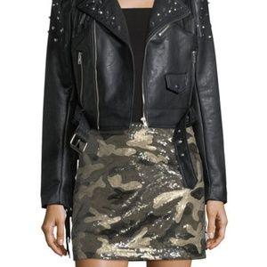 Dresses & Skirts - Camo Sequin Skirt